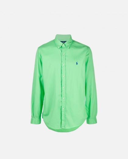 Shirt with embroidered logo Men Polo Ralph Lauren 000235820034843 1
