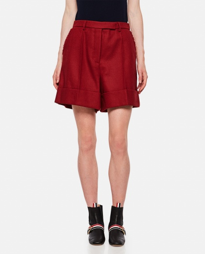 High-waisted shorts Women Thom Browne 000255320037711 1