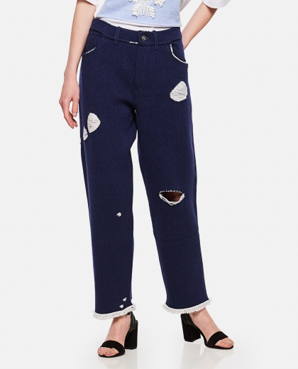 Straight-cut trousers