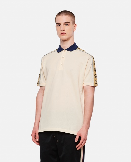 Polo with GG ribbon Men Gucci 000218690032392 1