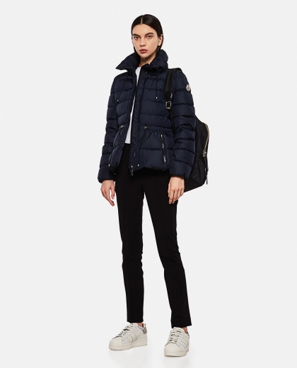 Quilted down jacket with drawstring Women Moncler 000259610038422 2