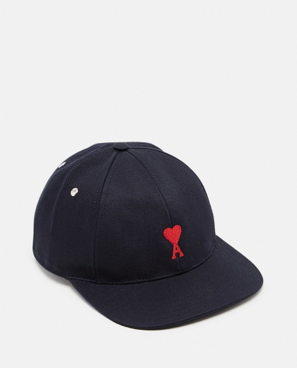 Cotton baseball cap Men AMI Paris 000291460042923 1