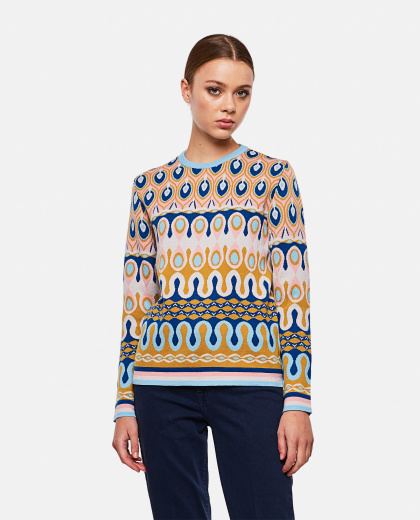 Patterned sweater Women La DoubleJ 000268450039589 1