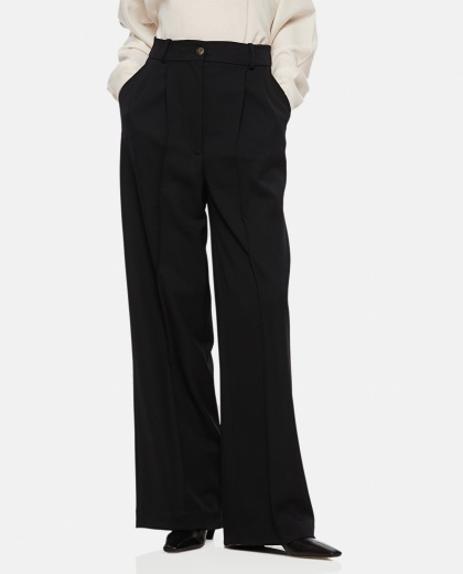 MOURO WOOL WIDE TROUSERS