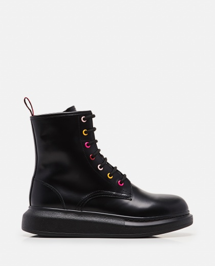 Lace-up ankle boots Women Alexander McQueen 000285070042024 1