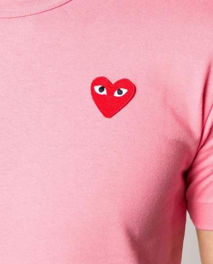 T-shirt with embroidery  Women Comme des Garcons Play 000226040033433 2