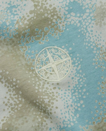 T-shirt with all over print Men Stone Island 000229820033886 2