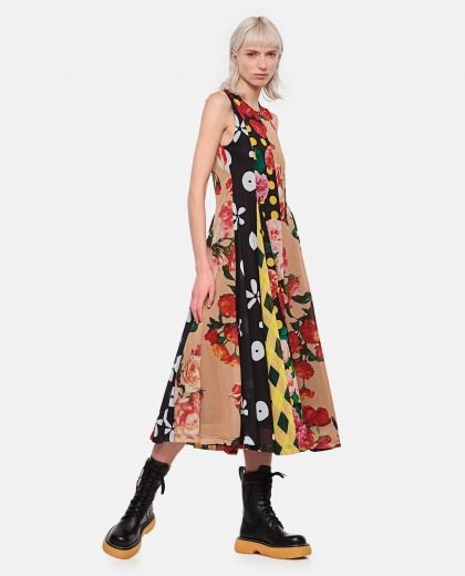 Patchwork dress Women Molly Goddard 000305640044817 1