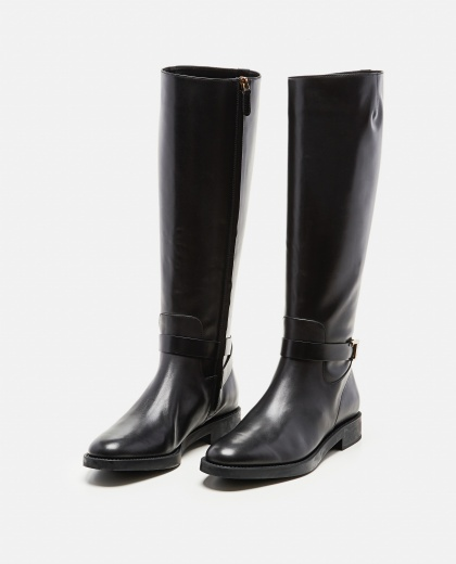 TIMELESS LEATHER BOOT Women Tod's 000255620037775 2