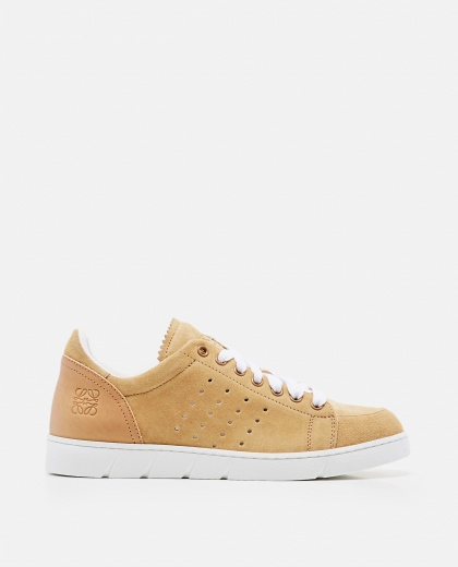 Sneaker morbida in vitello Donna Loewe 000258340038162 1