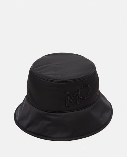 Bucket Hat with logo Women Moncler 000314860046147 1
