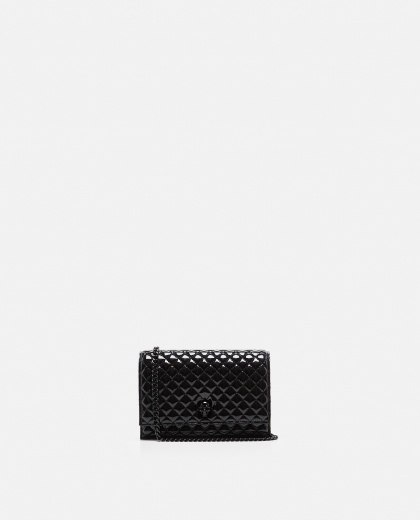 Skull quilted bag