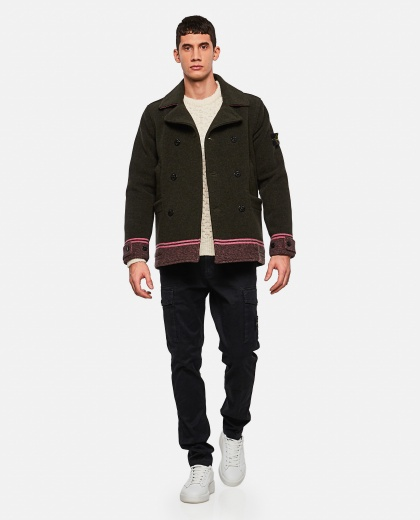 Double-breasted coat Men Stone Island 000270790039870 2