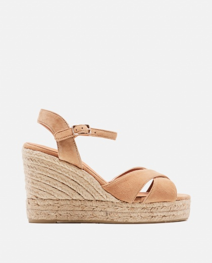Blaudel wedge espadrille sandals