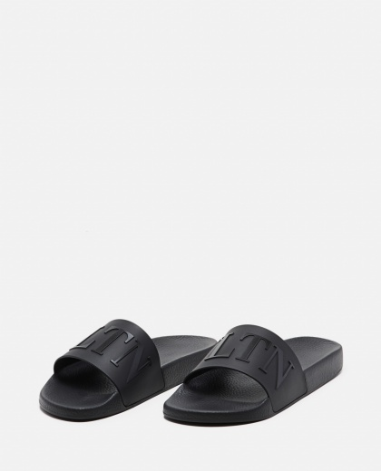VLTN rubber slide sandal Men Valentino 000294950043386 2