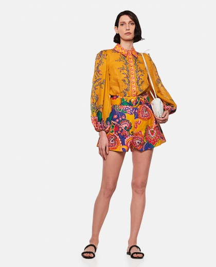 The Lovestruck paisley shorts Women Zimmermann 000290890042830 2