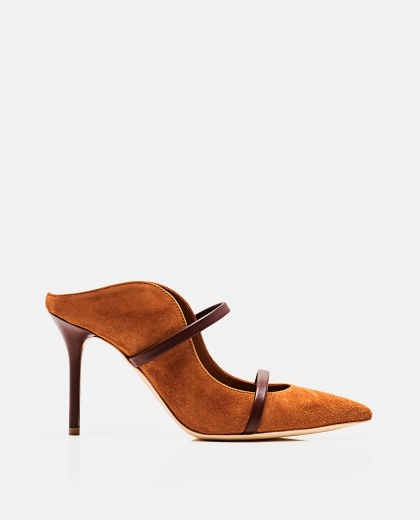 Maureen 85 leather mules