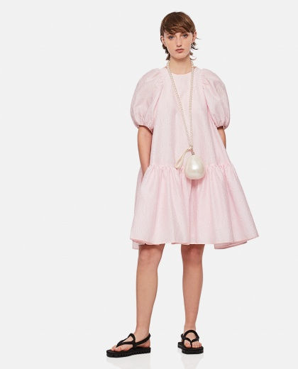 Dress with balloon sleeves Women Cecilie Bahnsen 000304490044674 2