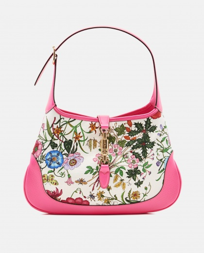 Jackie Hobo Bag With Flora Print