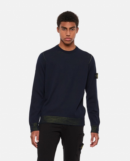 Reversible cotton sweater Men Stone Island 000292770043120 1