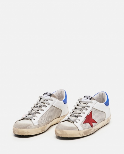 Sneakers Super-star in pelle  e tessuto  Uomo Golden Goose 000292400043046 2