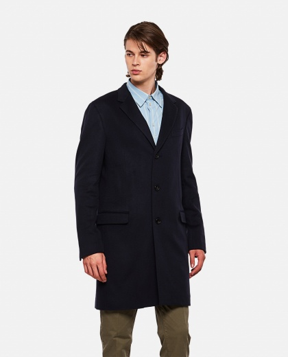 Single-breasted coat Men Lanvin 000267390039456 1