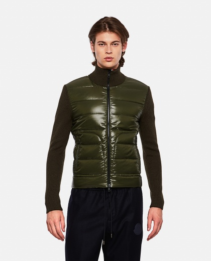 Sweater with padded detail Men Moncler 000271680040024 1