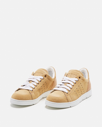 Sneaker morbida in vitello Donna Loewe 000258340038162 2