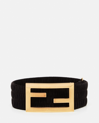 Maxi belt with logo Women Fendi 000260550038575 1