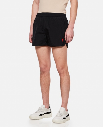 Black swim shorts Men AMI Paris 000291320042900 1