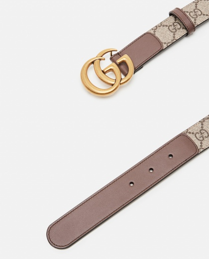GG motif belt with Double G buckle Women Gucci 000259360038372 2