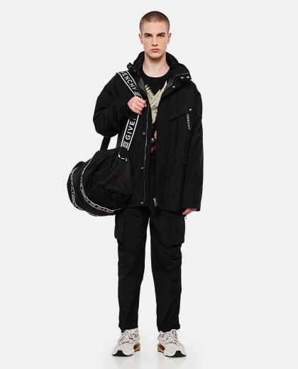 Parka with print Men Givenchy 000226510033490 2