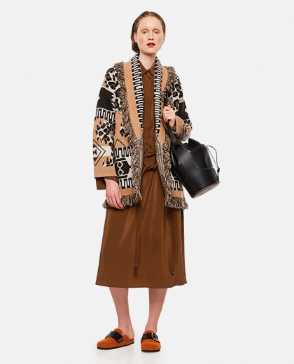 Crepe de Chine dress Women Fendi 000241820035813 2