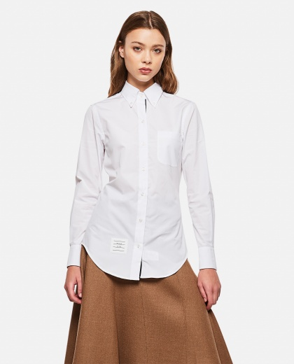 Buttoned slim fit shirt Women Thom Browne 000074600011834 1