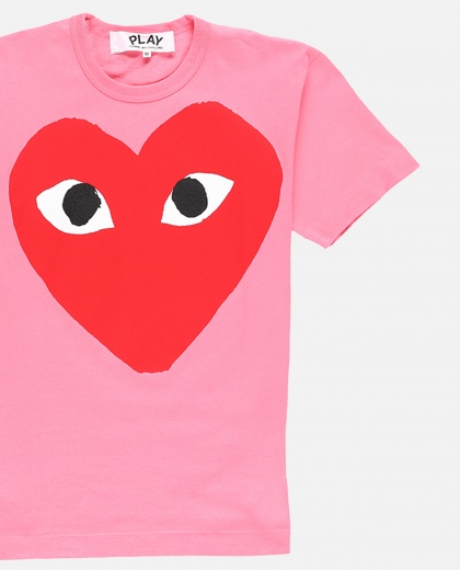 Logo print T-shirt Men Comme des Garcons Play 000230930034078 2
