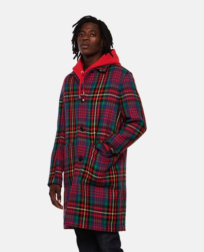 Checked coats