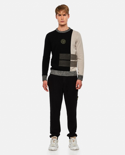 Logo embroidered sweater Men Stone Island 000270890039885 2