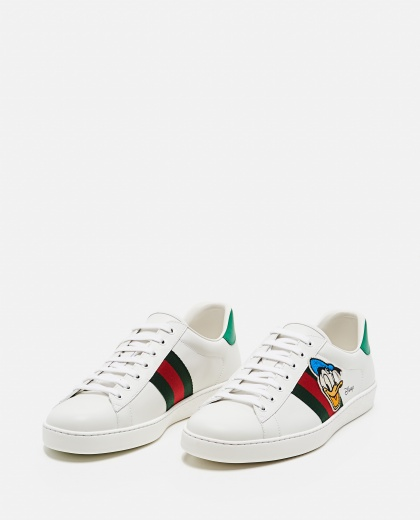 Sneaker Ace  Donald Duck Disney x Gucci Uomo Gucci 000293520043222 2