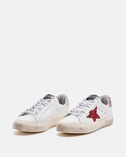 May star red glit sneakers Women Golden Goose 000215410031961 2