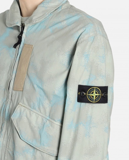 Spotted effect bomber Men Stone Island 000229800033884 2