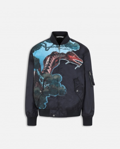 Dragons Garden bomber jacket