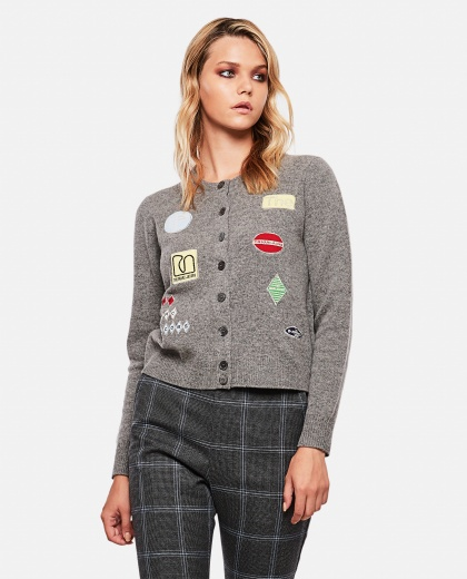 Classic buttoned cardigan Women Marc Jacobs 000257390038018 1