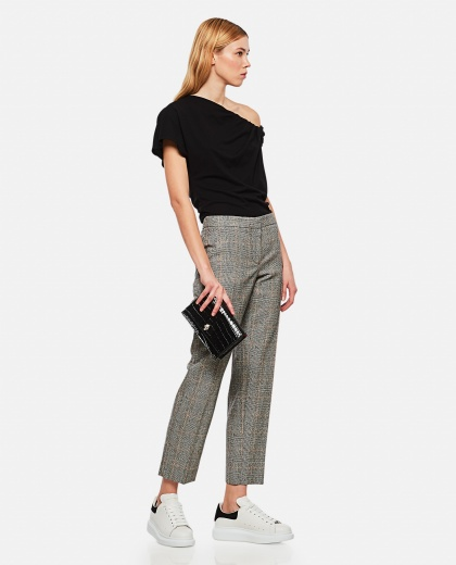 Prince of Wales trousers Women Alexander McQueen 000284930042008 2