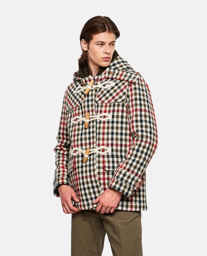 Montgomery with checked pattern Men J.W. Anderson 000270220039795 1