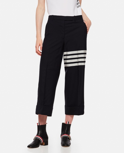 Wide leg trousers Women Thom Browne 000255310037710 1