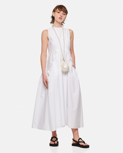 Sleeveless midi dress with cut-out detail Women Cecilie Bahnsen 000304450044669 2