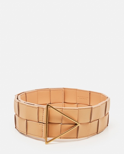 Braided Nappa Belt Women Bottega Veneta 000285620042141 1