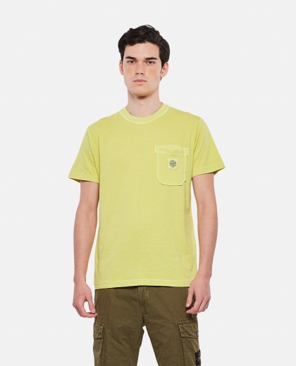 Short-sleeved cotton T-shirt Men Stone Island 000292820043133 1