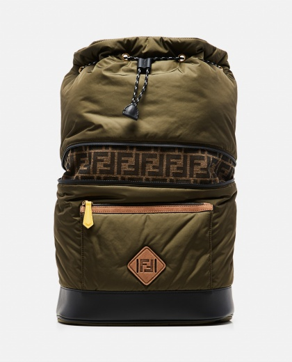 Backpack with FF monogram Men Fendi 000266940039400 1