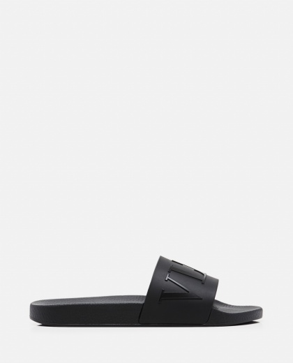 VLTN rubber slide sandal Men Valentino 000294950043386 1